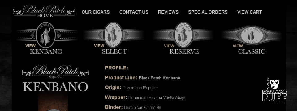 Cigar News | Black Patch Kenbano | cigarobsession
