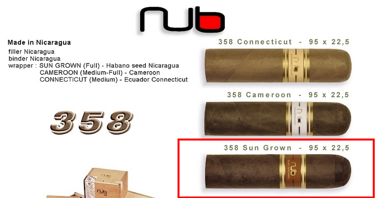 NUB Sun Grown 358