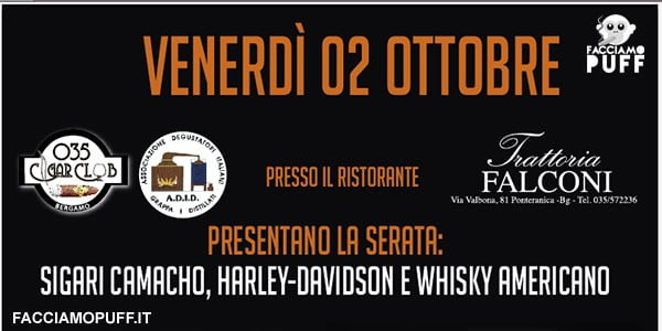 035 Cigar Club – Bergamo | UN GRANDE EVENTO DA FAR TREMARE LA TERRA!