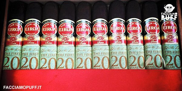 La CLE Cigar Company presenta i nuovi Eiroa First 20 Years | #CigarNews