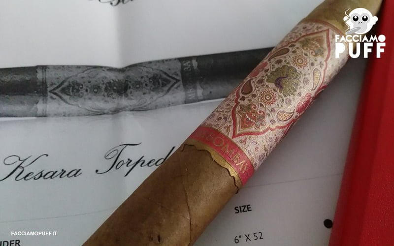 MBombay Kesara Torpedo No.2 | Cigar Review | la coccola costa ricana