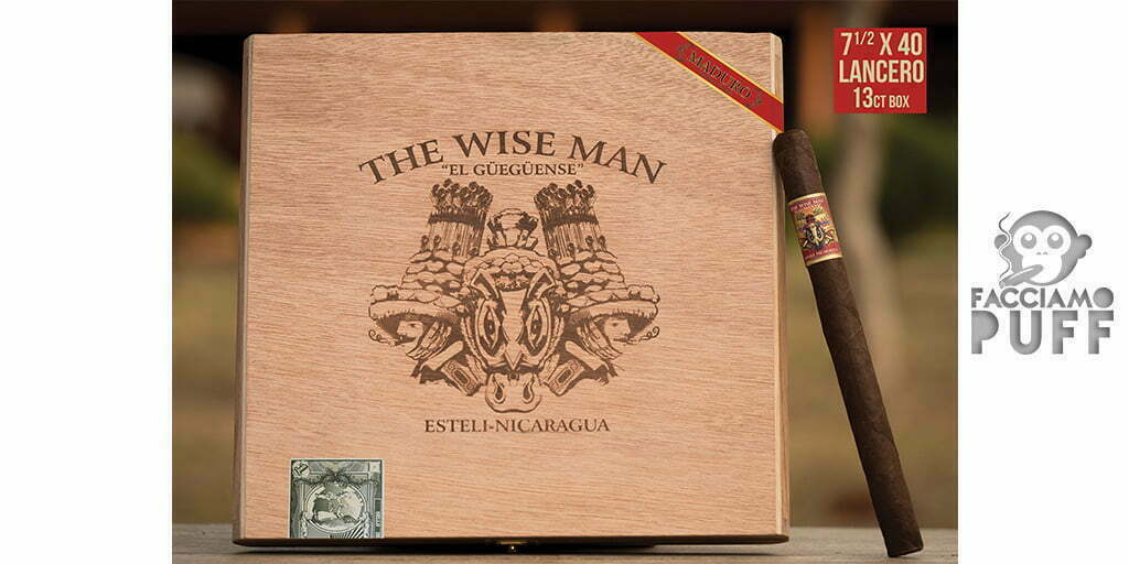 La Foundation Cigar Company presenta il The Wise Man Maduro Lancero
