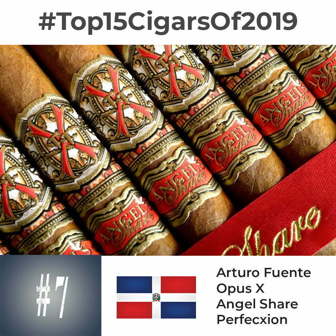 Arturo Fuente Opus X Angel Share Perfecxion